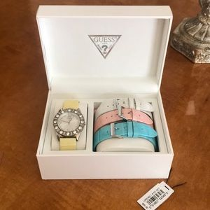 Guess Watch with removable straps!
